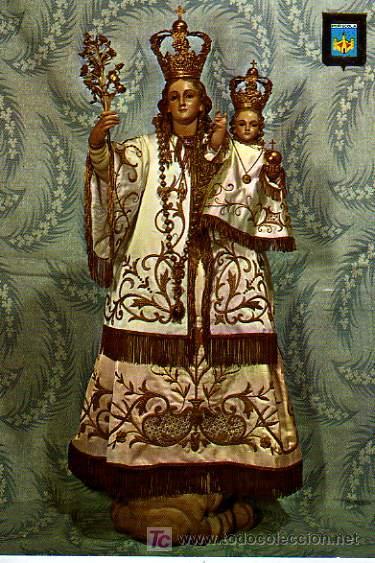 POSTAL DE NTRA SRA DE LA ERMITANA, PEÑÍSCOLA (CASTELLÓN) (Postales - Postales Temáticas - Religiosas y Recordatorios)