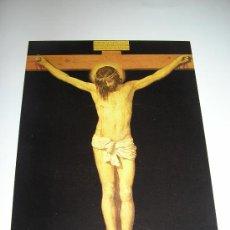 Postales: CRISTO CRUCIFICADO-VELAZQUEZ-MUSEO DEL PRADO. Lote 134282018