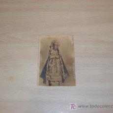 Postales: POSTAL FOTOGRFICA DE VIRGEN. Lote 9724949