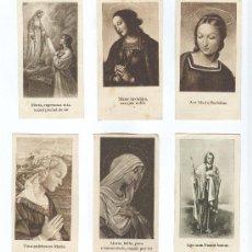 Postales: 6 ESTAMPAS RELIGIOSAS ANTIGUAS. Lote 9785398