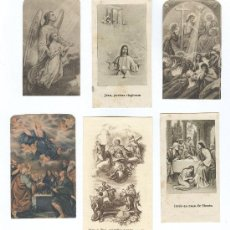 Postales: 6 ESTAMPAS RELIGIOSAS ANTIGUAS. Lote 8838514