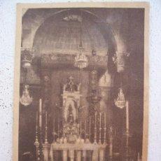 Postales: POSTAL DE LA CAPILLA DE SAN JORGE DEL PALACIO DE LA EXCME DIPUTACION PROV DE BARCELONA..... 1936. Lote 19754371