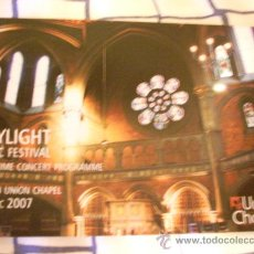 Postales: POSTAL DE LA IGLESIA UNION CHAPEL. ISLINGTON, LONDRES.. Lote 8244192