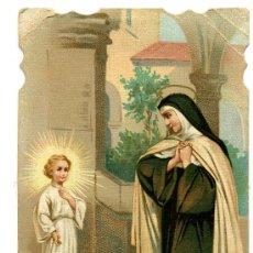 Postales: SANTA TERESA DE JESUS - DORSO ESCRITO A PLUMILLA FECHADA 1916. Lote 8907382