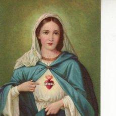 Postales: CORAZON IMACULADO DE MARIA-RECORDATORIO ITALIANO. Lote 8959919