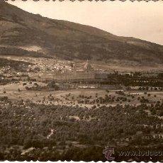 Postales: ANTIGUA POSTAL SAN LORENZO DEL ESCORIAL VISTA GENERAL CIRCULADA 1950. Lote 14723593