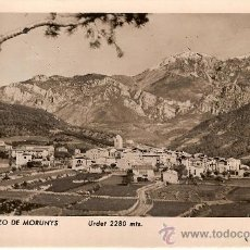Postales: ANTIGUA POSTAL SAN LORENZO DE MORUNYS URDET 2280 MTS CIRCULADA 1953. Lote 14723618