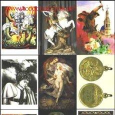 Postales: 9 POSTALES COLECCIÓN SAN JORGE UNIVERSAL SERIE 6. Lote 27443100