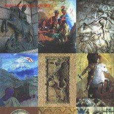 Postales: 9 POSTALES COLECCIÓN SAN JORGE UNIVERSAL SERIE 5. Lote 5739462