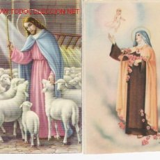 Postales: LOTE DE 2 POSTALES RELIGIOSAS. Lote 23194094