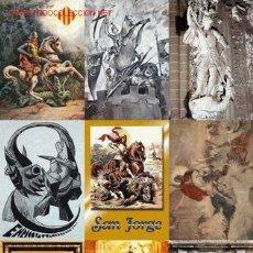 Postales: 9 POSTALES COLECCIÓN SAN JORGE UNIVERSAL SERIE 11. Lote 5739452
