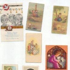 Postales: RECORDATORIOS -AÑOS 50-60 70-. Lote 25327274