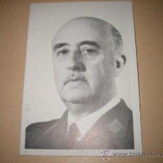 Postales: EN MEMORIA DE FRANCISCO FRANCO 20 DE NOV 1989 MENSAJES DEL CAUDILLO DESINTEGRACION NACIONAL. Lote 9999176