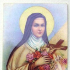 Postales: ESTAMPA RELIGIOSA SANTA TERESITA DEL NIÑO JESUS. Lote 10248019