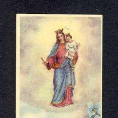 Postales: ESTAMPA RELIGIOSA: MARIA AUXILIADORA, SANTUARIO DE MADRID. Lote 10283819