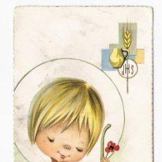 Postales: RECORDATORIO COMUNION. Lote 10333319