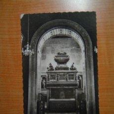 Postales: POSTAL SEGOVIA IGLESIA DE LOS CARMELITAS DESCALZOS SEPULCRO DE SAN JUAN DE DIOS SIN CIRCULAR. Lote 10367511