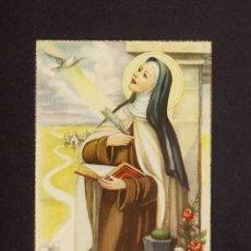 Postales: POSTAL RELIGIOSA: SANTA TERESA DE JESUS. AVILA. Lote 11031384