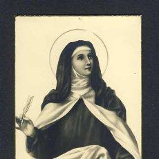 Postales: POSTAL RELIGIOSA: SANTA TERESA DE JESUS. AVILA. Lote 11031923