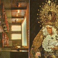 Postales: POSTAL CON LA IMAGEN DE LA MACARENA DE SEVILLA YDEL RESTAURANTE BAR CASA MANOLO (1974). Lote 11215768