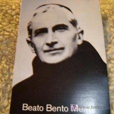 Postales: BEATO BENTO MENNI 1986. Lote 11775672