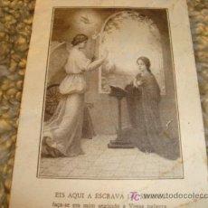 Postales: EIS AQUI A ESCRAVA DO SENHOR, HE AQUI LA ESCLAVA DEL SEÑOR, 1969. Lote 11779084