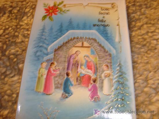 LISBOA 13 DICIEMBRE 89 FELICITACION NAVIDEÑA (Postales - Postales Temáticas - Religiosas y Recordatorios)