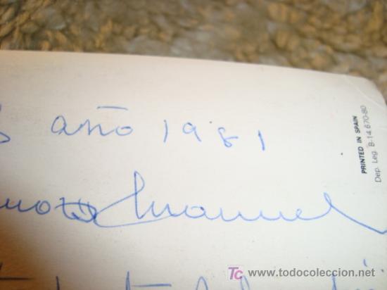 Postales: 1981 felicitacion - Foto 2 - 11775658