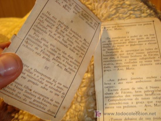 Postales: 1950 NUESTRA SEÑORA DEL ROSARIO DE FATIMA, .NOVENA - Foto 2 - 11775876