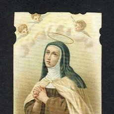 Postales: ESTAMPA RELIGIOSA: SANTA TERESA DE JESUS. AVILA. Lote 11807748