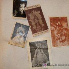 Postales: LOTE 5 ESTAMPAS ANTIGUAS DE LA SEMANA SANTA GADITANA. Lote 11887193