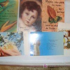 Postales: LOTE 6 ESTAMPAS RELIGIOSAS Y RECORDATORIOS. Lote 11945997