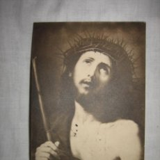 Postales: ECCE-HOMO COBRE FIRMADO POR JUSEPE DERIBERA VALENCIANO MUSEO CADIZ CIRCULADA GIJON-OVIEDO CADIZ . Lote 11960645