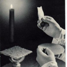 Postales: ESTAMPA RELIGIOSA - RECUERDO PRIMERA MISA SOLEMNE (NAVALUENGA, AVILA 1962). Lote 12592379