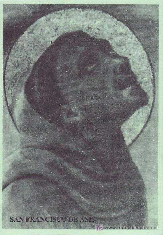 ESTAMPA RELIGIOSA - SAN FRANCISCO DE ASIS (CÁCERES) (Postales - Religiosas y Recordatorios)