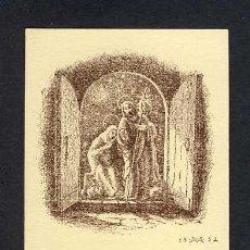 Postales: ESTAMPA RELIGIOSA: ILLUSTRADA PER ANTONI VILA ARRUFAT DE SABADELL. Lote 12215950