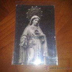 Postales: ANTIGUA POSTAL RELIGIOSA VIRGEN SIN IDENTIFICAR. Lote 25242502