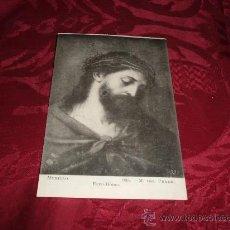 Postales: POSTAL ECCE HOMO-MURILLO MUSEO DEL PRADO FOT LACOSTE-MADRID. Lote 12749680