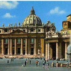Postales: PLAZA SAN PEDRO( ROMA )+ POSTALES Y MUCHO + EN MI TIENDA. Lote 12935240