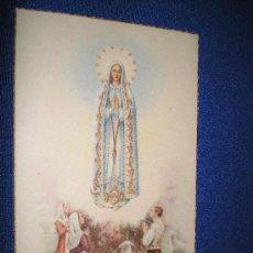 Postales: POSTAL RELIGIOSA - NSTRA. SRA. DE FATIMA. Lote 13244259