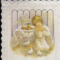 Postales: RECORDATORIO DE PRIMERA COMUNIÓN - AÑO 1989. Lote 13811253