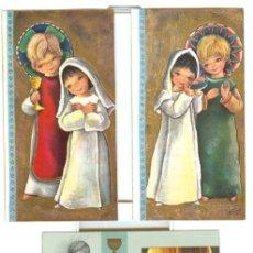 Postales: 3 RECORDATORIOS COMUNIÓN (AÑO 1964). Lote 21664975