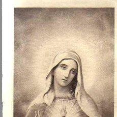 Postales: ESTAMPA - SAGRADO CORAZÓN DE MARIA. Lote 14321640