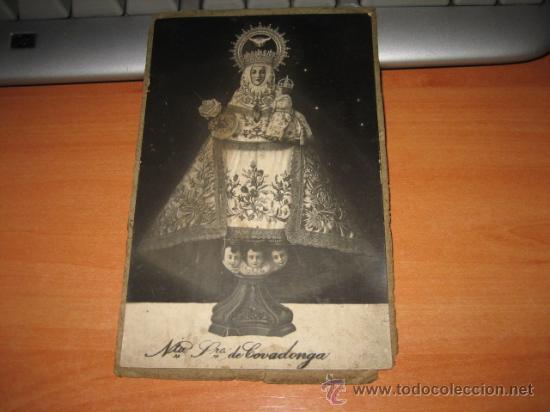 Postales: POSTAL O FOTO DE NTRA SRA DE COVANDONGA - Foto 3 - 14860601