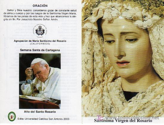 Resultado de imagen para rosario juan pablo ii
