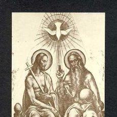 Postales: ESTAMPA RELIGIOSA: SANTUARI DE LA SALUD. PINTURA DE VILA ARRUFAT (SABADELL). Lote 16439406