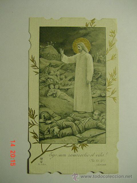 3977aaec2ad34 4829 1ª GUERRA MUNDIAL PRECIOSA ESTAMPA ESTAMPITA AÑOS 1914 - MAS EN MI  TIENDA