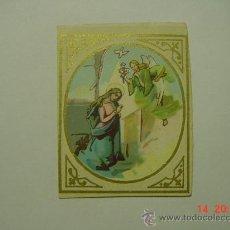Postales: 4789 MINI ESTAMPA ESTAMPITA ANUNCIACION AÑOS 1890 - MAS EN MI TIENDA . Lote 16948485