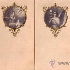 Postales: ESTAMPAS LOTE NUMERO 04 DE PRIMERA COMUNION MODERNISTAS - CUATRO -. Lote 17193207