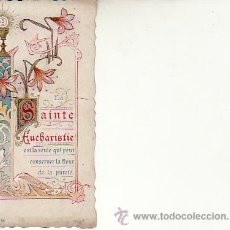 Postales: RECORDATORIO AÑO 1918 FRANCÉS.RECUERDO DE PRIMERA COMUNION.. Lote 17415658